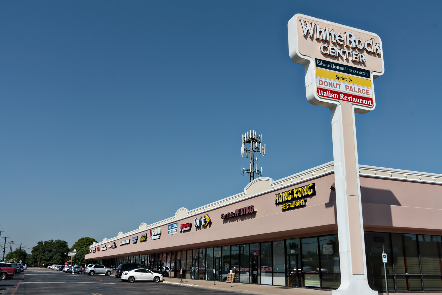 White Rock Shopping Center Garland TX